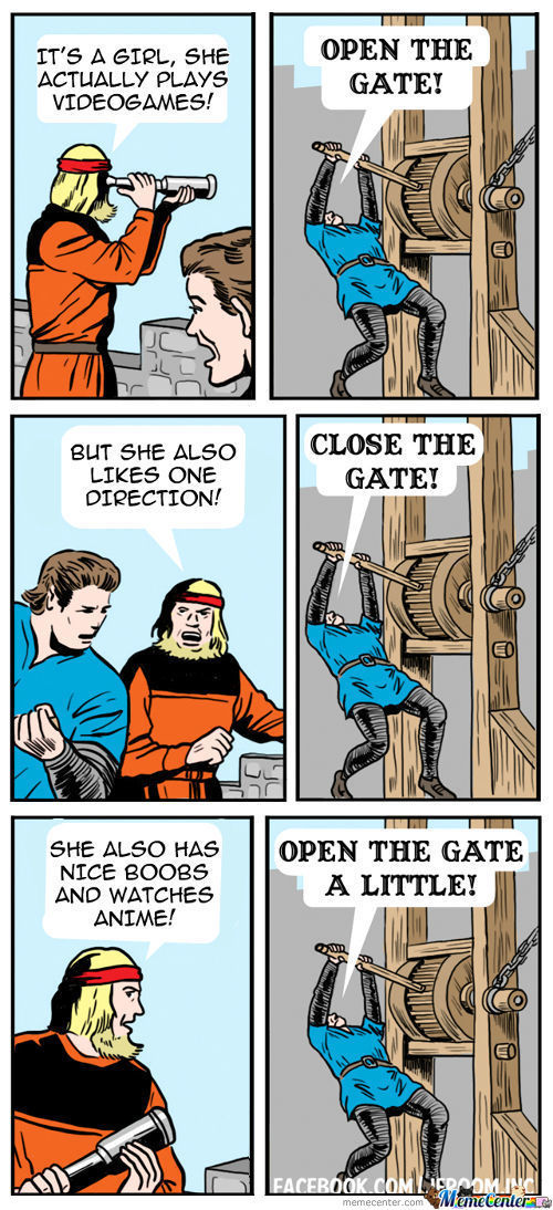 Open The Gate, It's My Girlfriend!