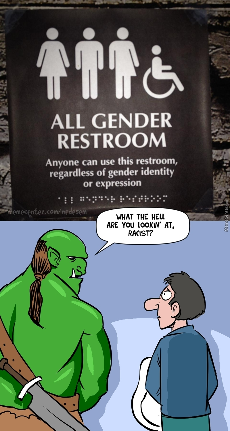 Orcs Are Human Too!