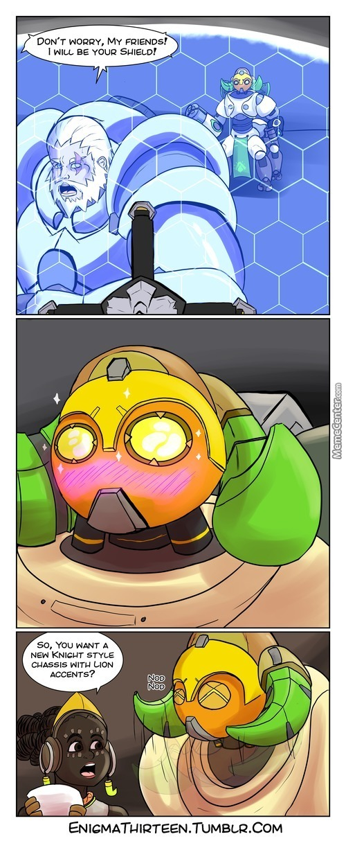 Orisa Finds A Role Model