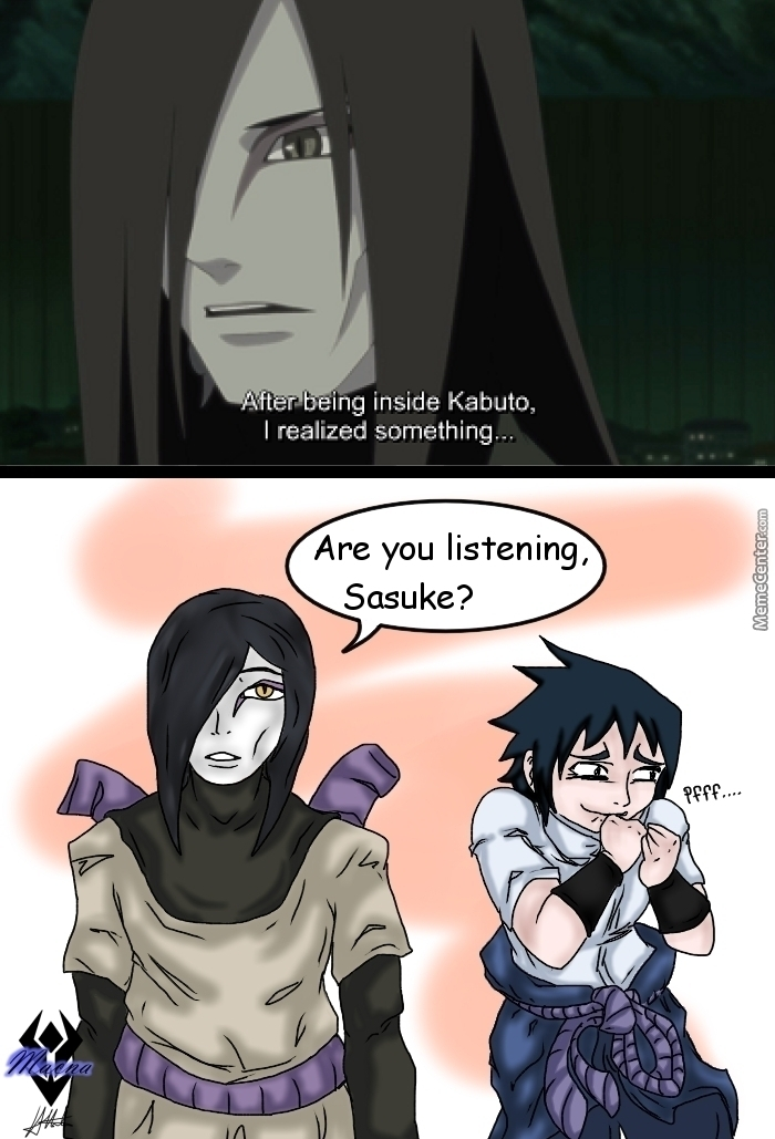 Orochimaru Changed  by macna - Meme Center
