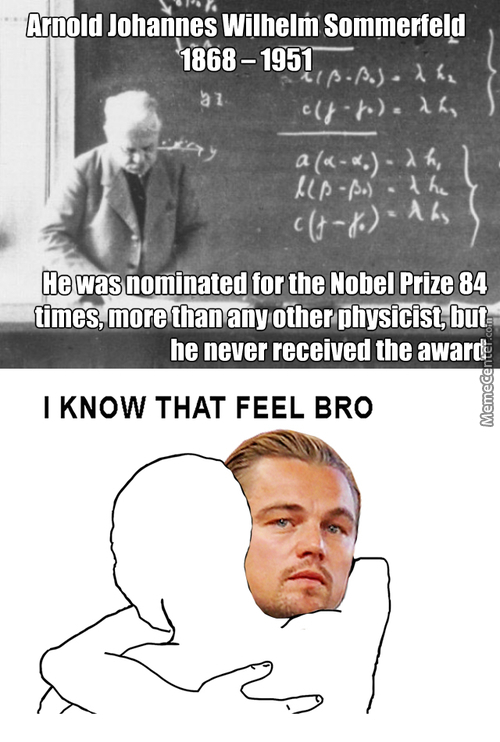 Oscar Of The Nobels