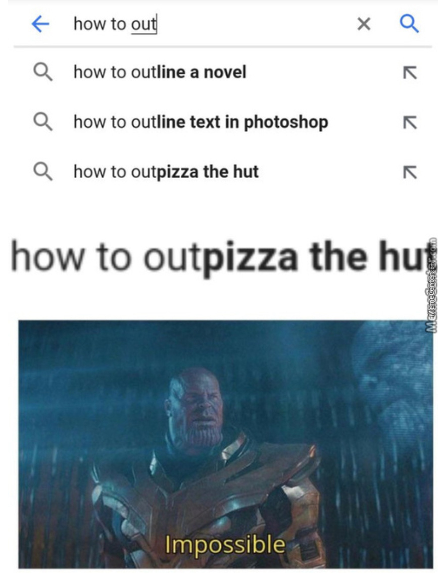 Out Pizza The Hut