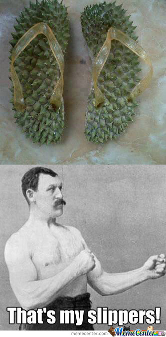 Over Manly Man - Slippers