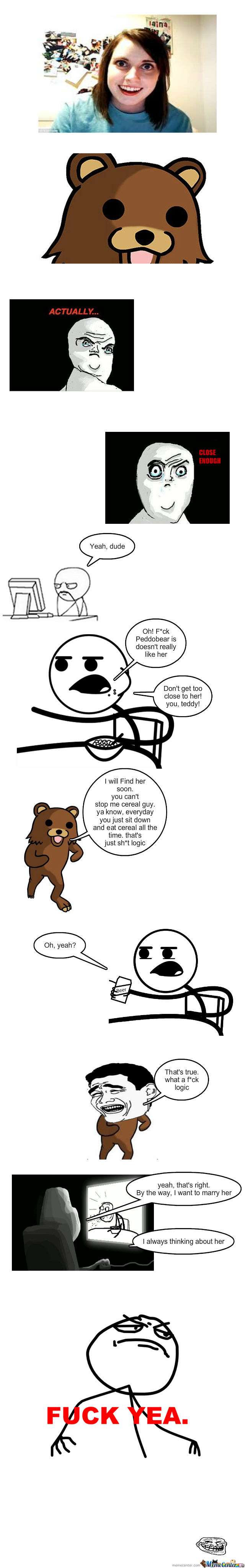 Overly Attached Girlfriend And Peddobear