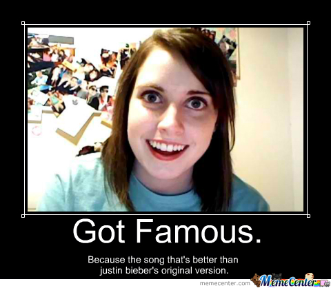 overly attached girlfriend_o_1848377 overly attached girlfriend by recyclebin meme center
