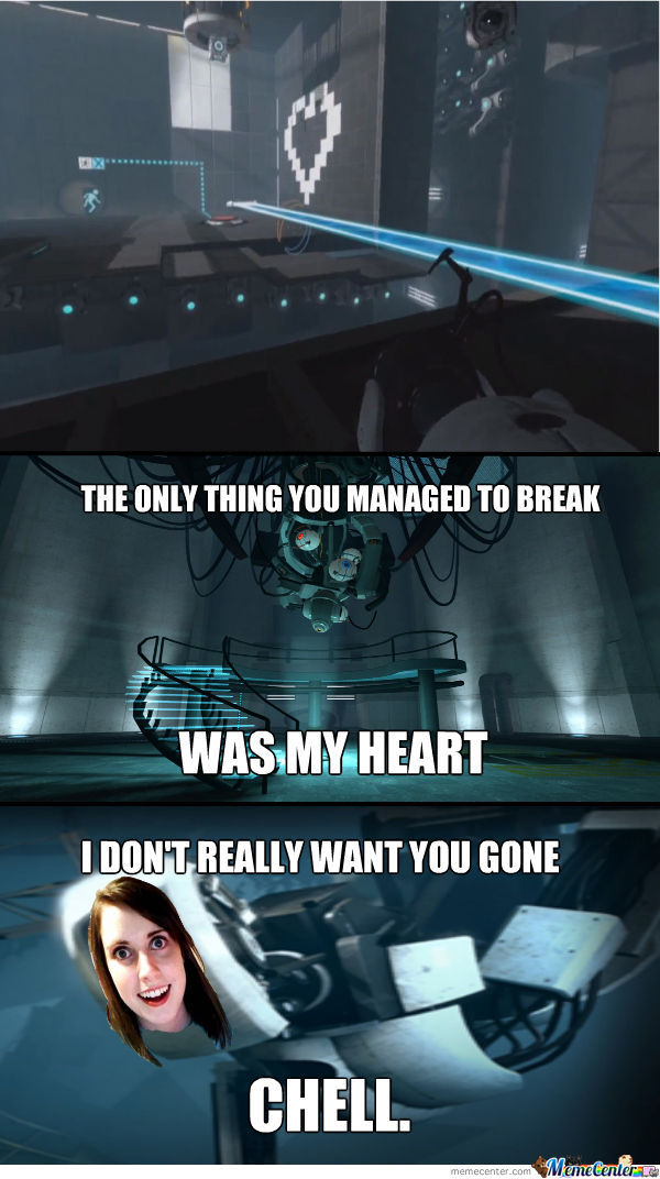 Overly Attached Glados