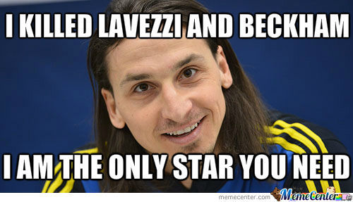 Overly Attached Ibrahimovic