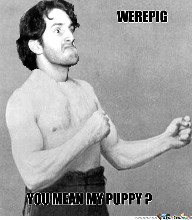 Overly Manly Bob