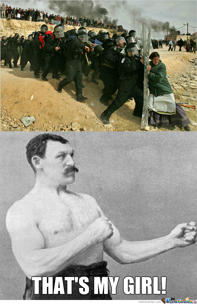 Overly Manly Man's Daughter