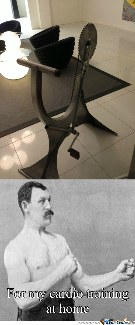 Overly Manly Man's Hometrainer