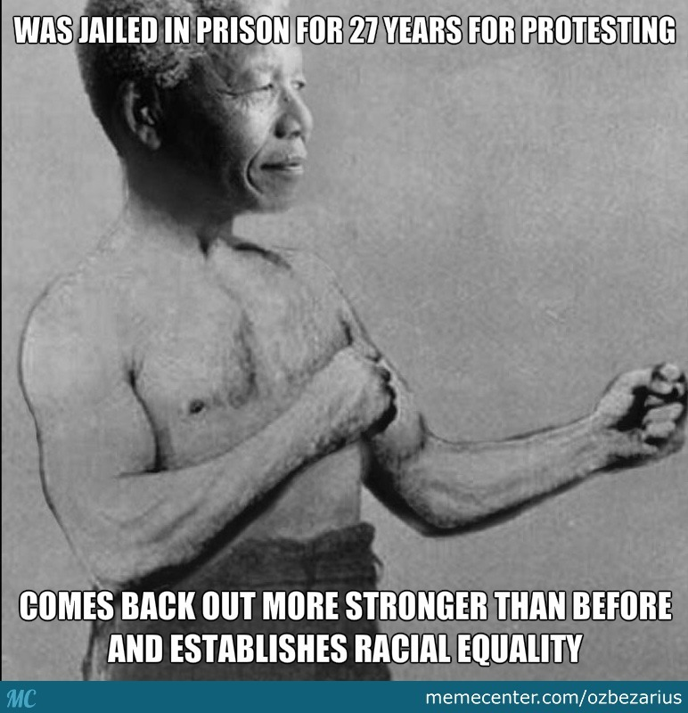 Overly Manly Man-Dela