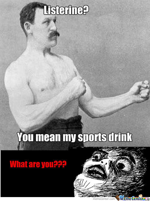 Overly Manly Man Is Immortal