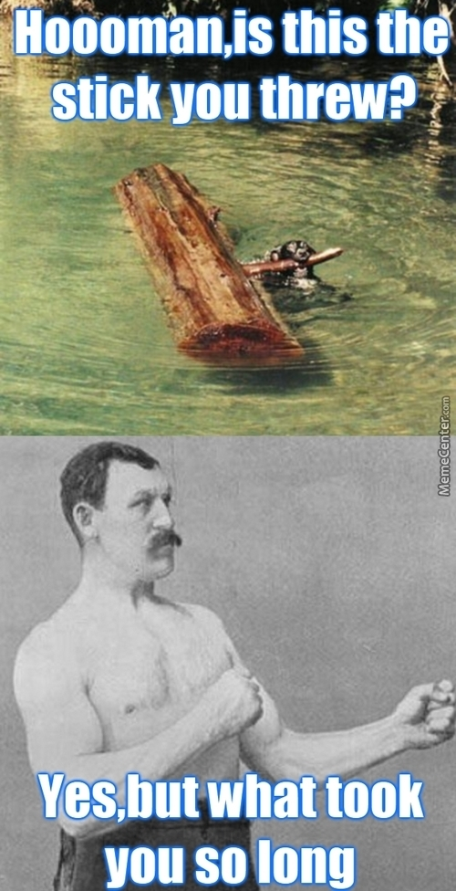 Overly Manly Man Is Like The Asian Father Of Manly Things