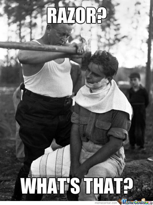 Overly Manly Man's Brother