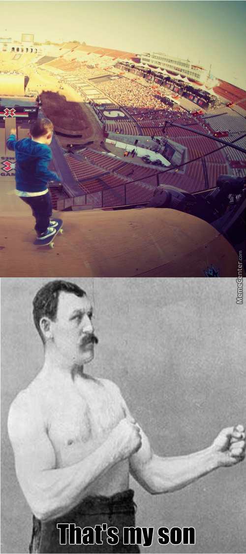 Overly Manly  Skate Ramp