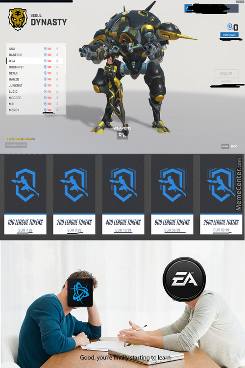 Overwatch League, Sponsored By Ea