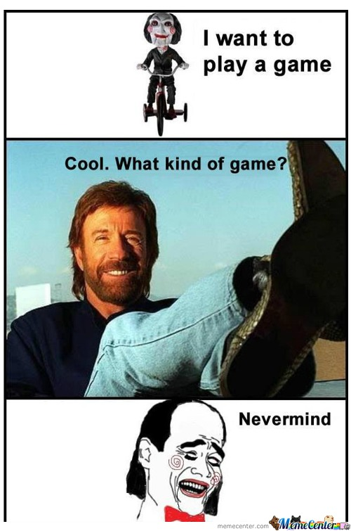 Owned! By Chuck Norris