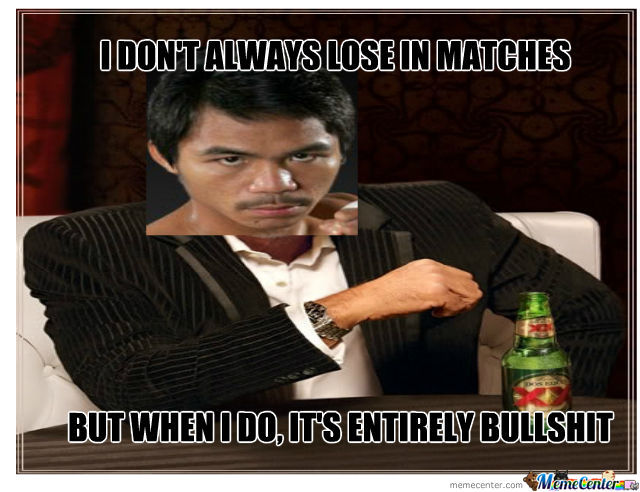 Pacman Has Something To Say To Bradley