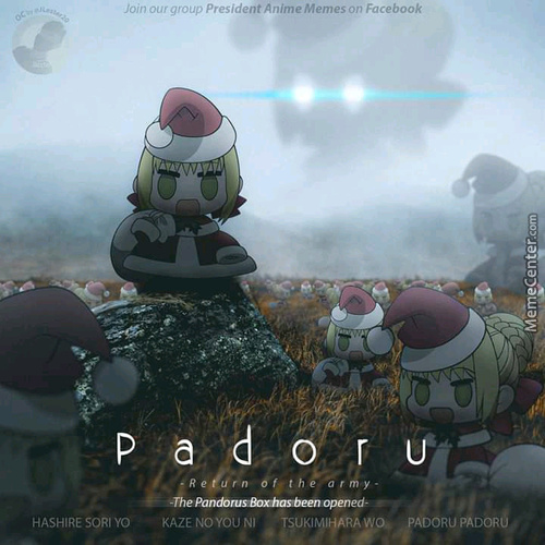 Padoru Is Here. There Is Nothing You Can Do About It.