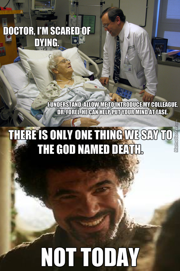Paging Dr. Syrio Forel