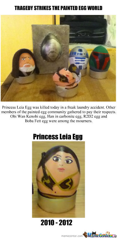 Painted Egg Tragedy