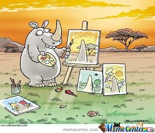 Painter Rhino