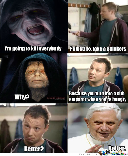 Palpatine's Snickers