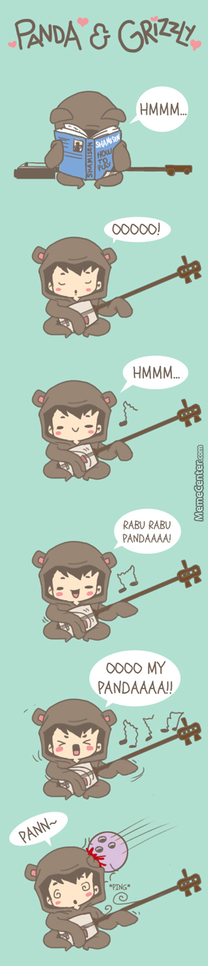 Panda & Grizzly - Shamisen
