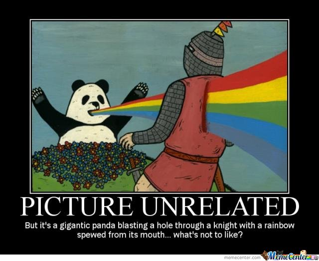 Funny Rainbow Meme : Panda by flurffyface meme center