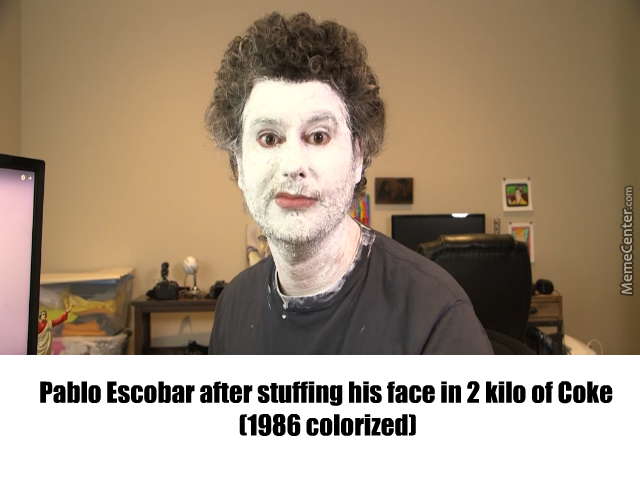 Image result for h3h3 pablo escobar