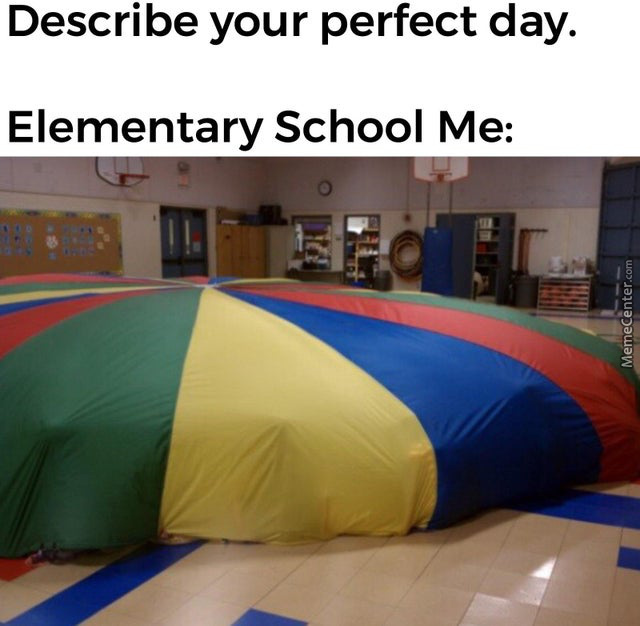 Parachute Day Was Perfect...