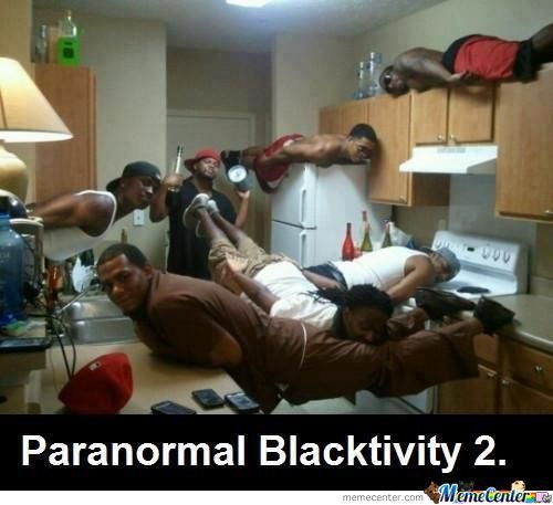 Paranormal Blacktivity 2