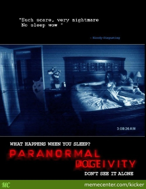 Paranormal Dogeivity