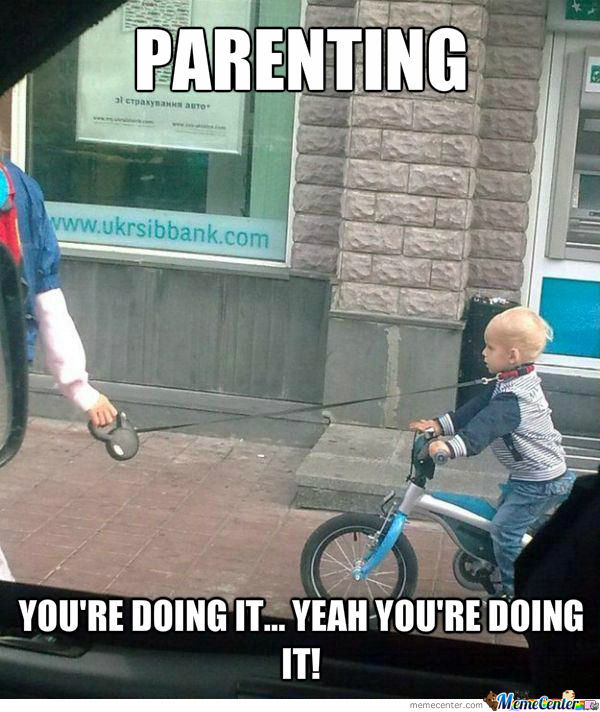 Parenting Level: Over! Just Over...