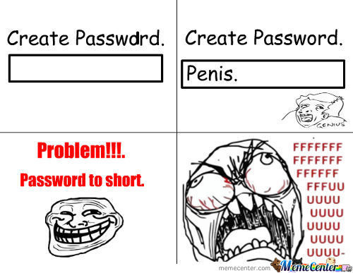 Password To Short