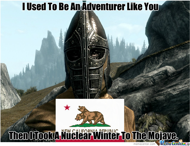 Patrolling Skyrim Almost Makes You Wish For An Arrow To The Knee.