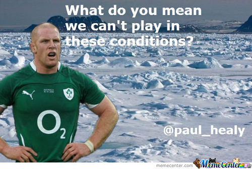 Paul O Connell's Reaction To The Postonment Of The France V Ireland Match