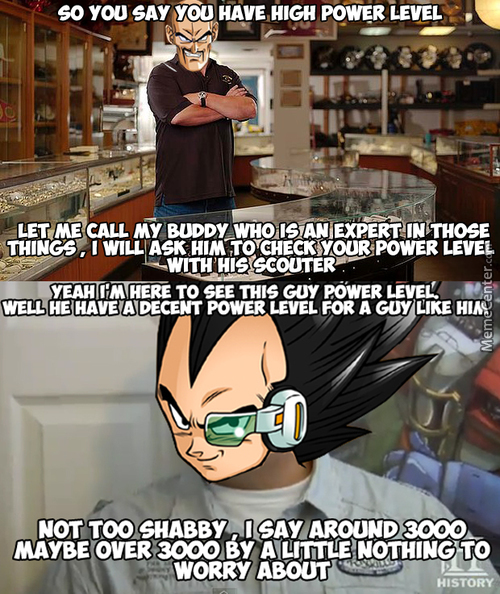 Pawn Star : Dragon Ball Z Edition