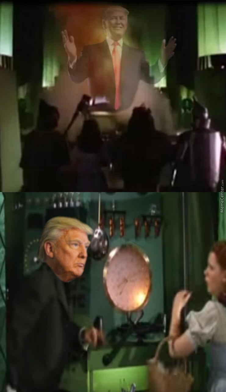 Pay No Attention To The Man Behind The Curtain!