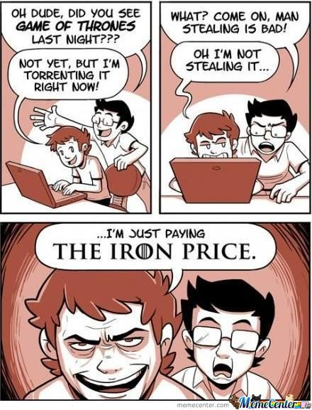 Paying The Iron Price