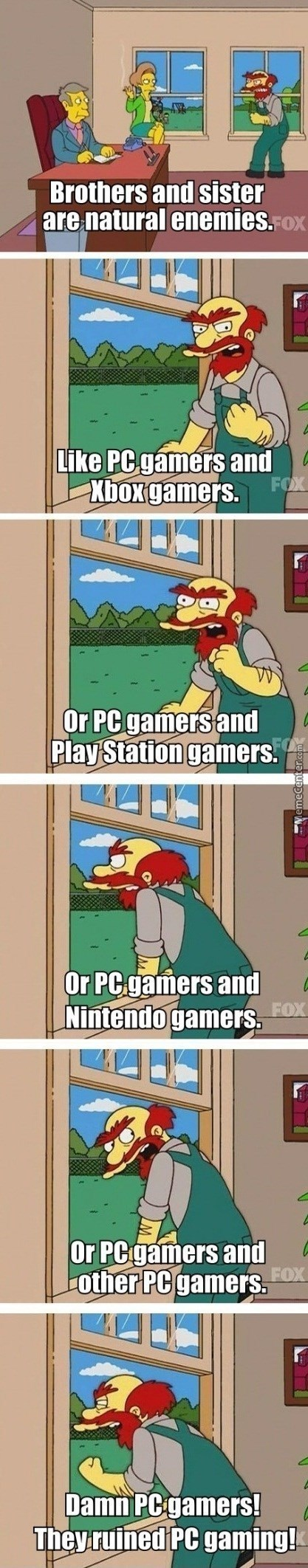 Pc Gamers Make Enemies For Life In The Name Of Gaben