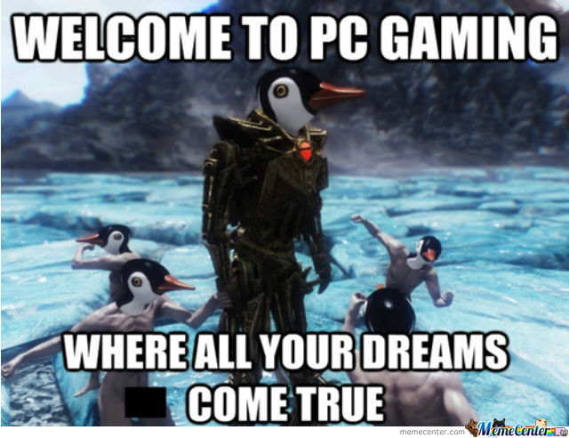Pc Gaming By Eeveelover Meme Center