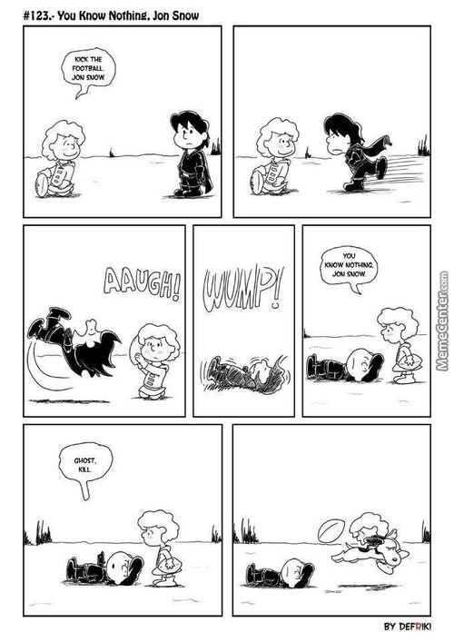 Peanuts Meets Game Of Thrones