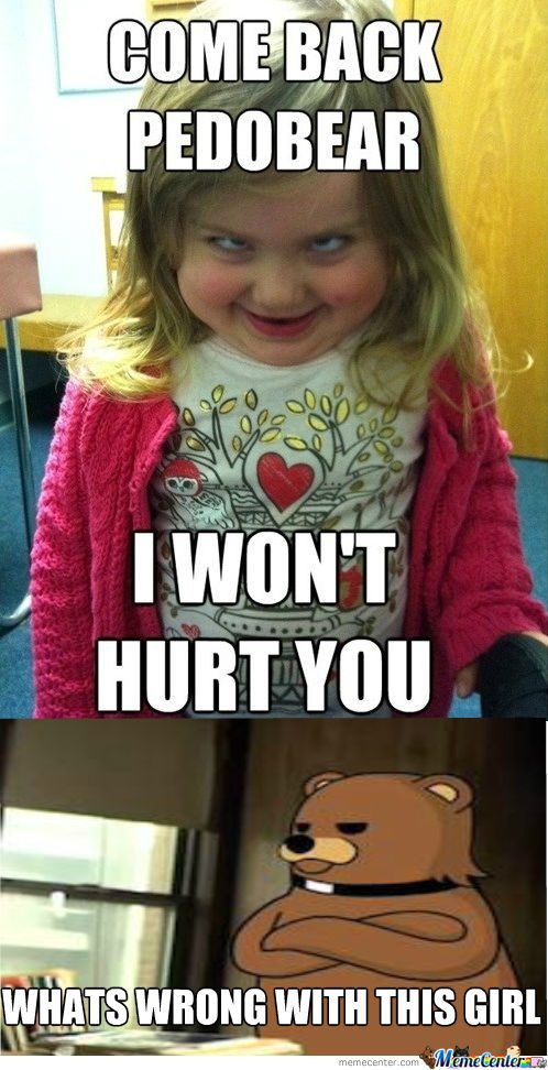 Pedo Bear Disappointed