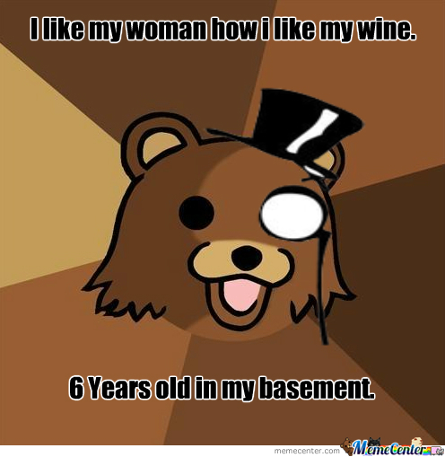 Pedo Bear Likes His Woman This Way