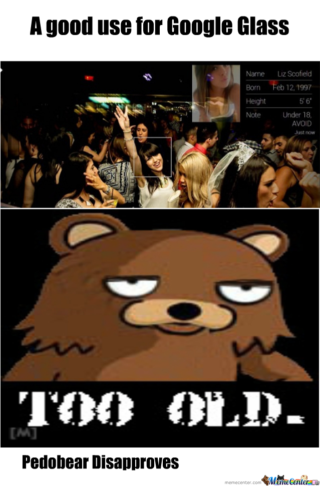 Pedobear Disapproves
