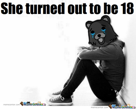 Pedobear First World Problems