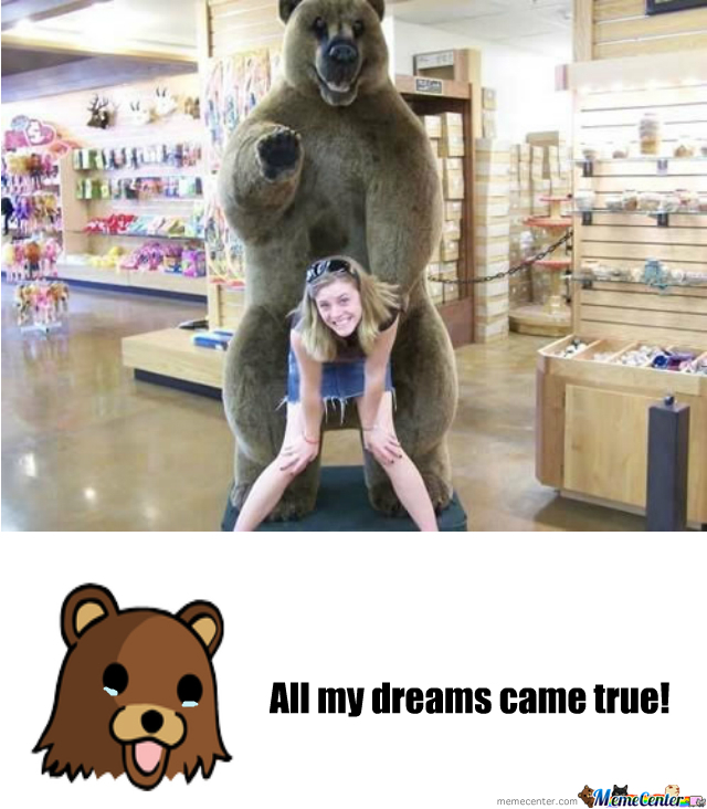 Pedobear Has Dreams Too!