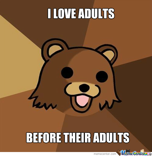 Pedobear Loves Adult--Wait What?