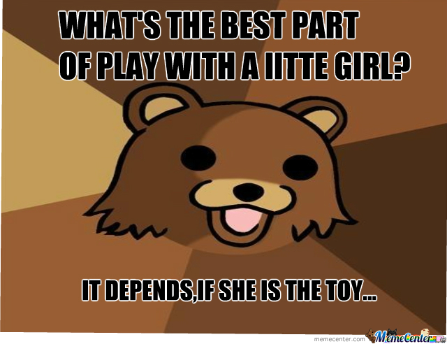 Pedobear Play With Girls